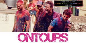 COLDPLAY:BUS DOLE+BILLET PELOUSE