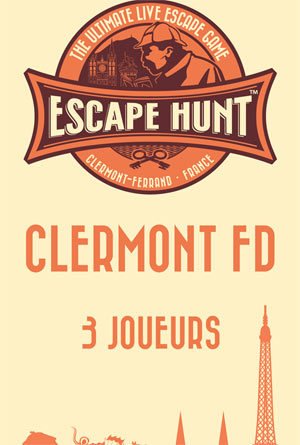 ESCAPE GAME CLERMONT FD-3 PERSONNES