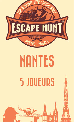 ESCAPE GAME NANTES - 5 PERSONNES