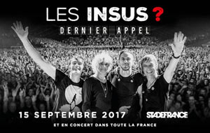 LES INSUS STADE DE FRANCE - PARIS