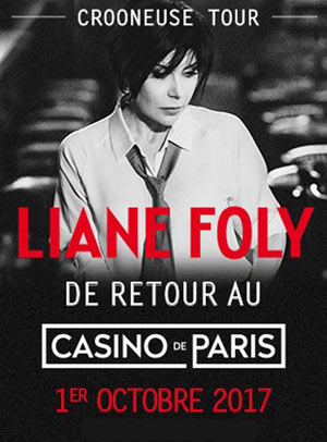LIANE FOLY - CROONEUSE TOUR
