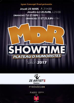 MDR SHOW TIME