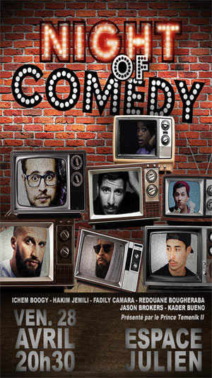 NIGHT OF COMEDY
