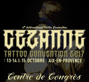 CEZANNE TATTOO INK -PASS 2JOURS V&S