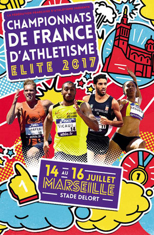 CHAMPIONNATS DE FRANCE ELITE 2017