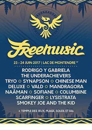 FREEMUSIC 2017 - PASS 2 JOURS