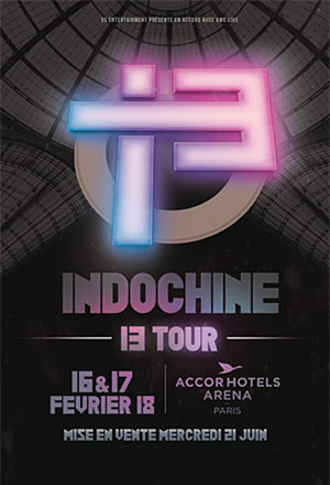 INDOCHINE ACCORHOTELS ARENA - PARIS