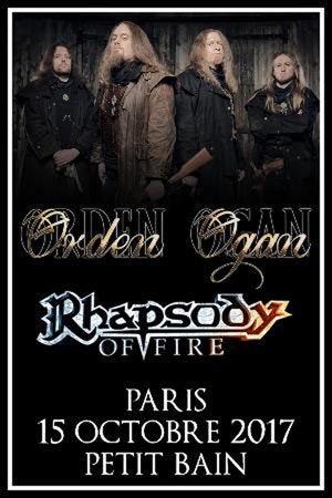 ORDEN OGAN + RHAPSODY OF FIRE