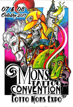 MONS TATTOO CONVENTION -SAM. 07/10