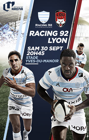 RACING 92 / LOU RUGBY