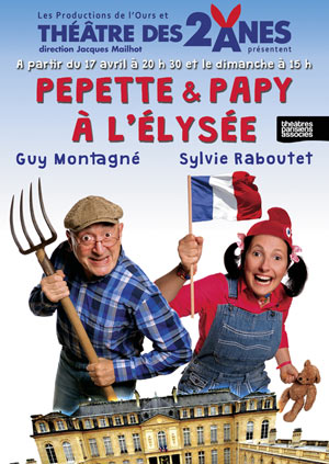 PEPETTE ET PAPY A L'ELYSEE