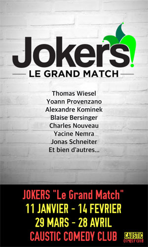 JOKERS ? LE GRAND MATCH