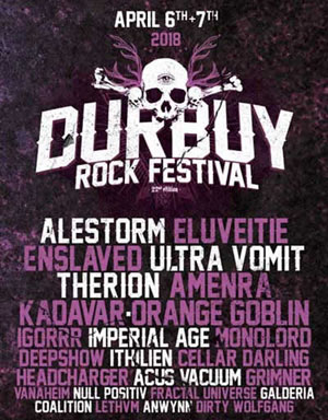 DURBUY ROCK FESTIVAL 2018 - PASS 2