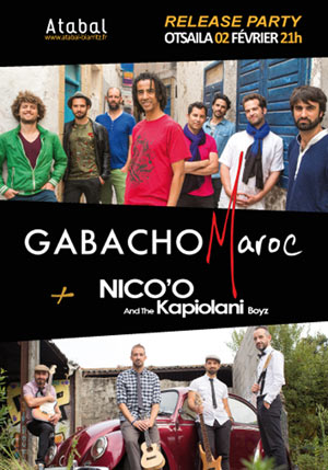 GABACHO MAROC - RELEASE PARTY
