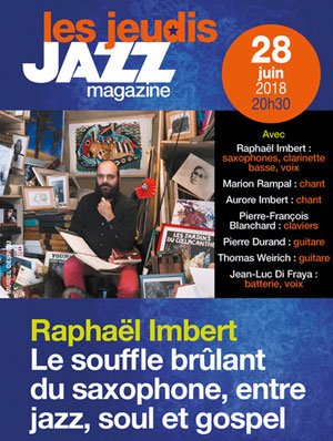 RAPHAEL IMBERT « MUSIC IS MY HOPE »