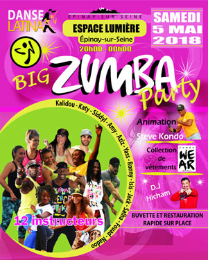 BIG ZUMBA PARTY -  5EME EDITION