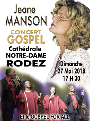 JEANE MANSON ET LE GOSPEL FOR ALL