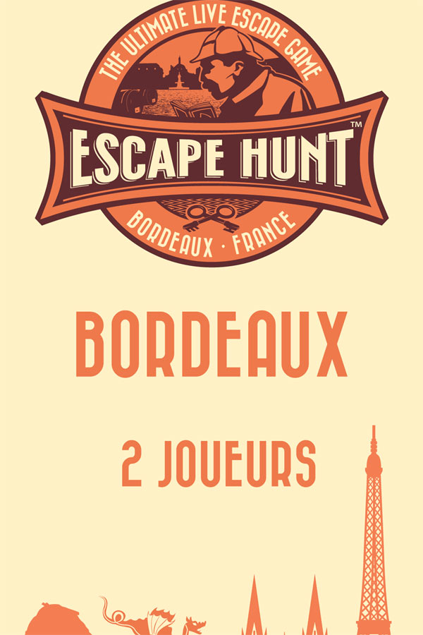 ESCAPE GAME BORDEAUX - 2 PERSONNES