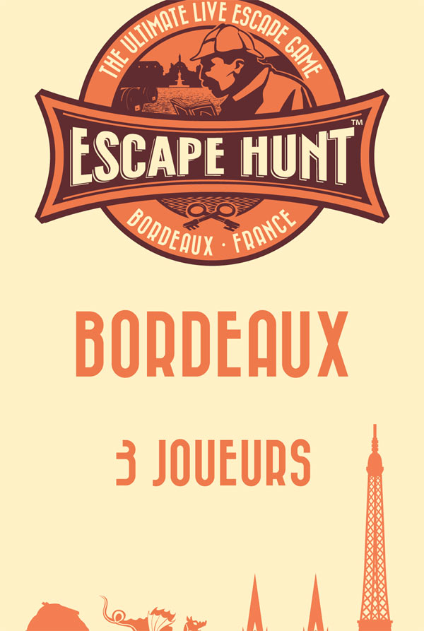 ESCAPE GAME BORDEAUX - 3 PERSONNES