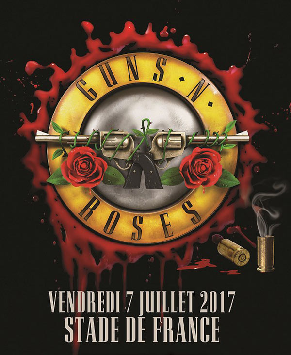 GUNS 'N ROSES STADE DE FRANCE-PARIS