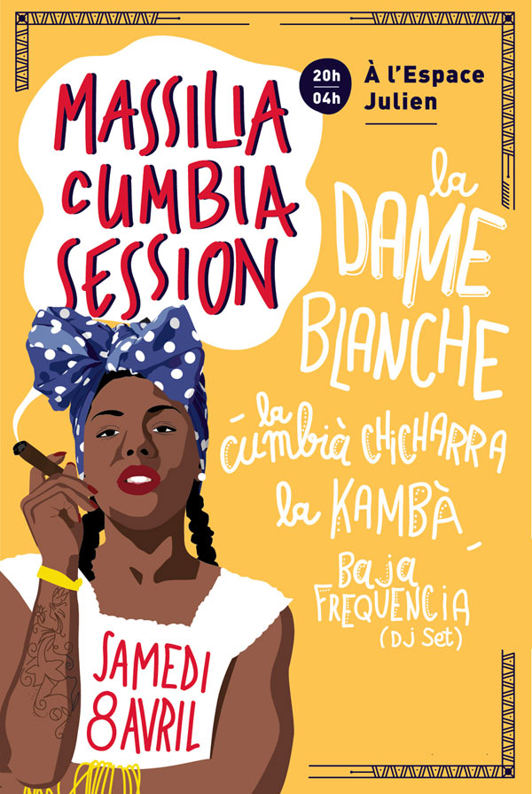 MASSILIA CUMBIA SESSION:  LA DAME