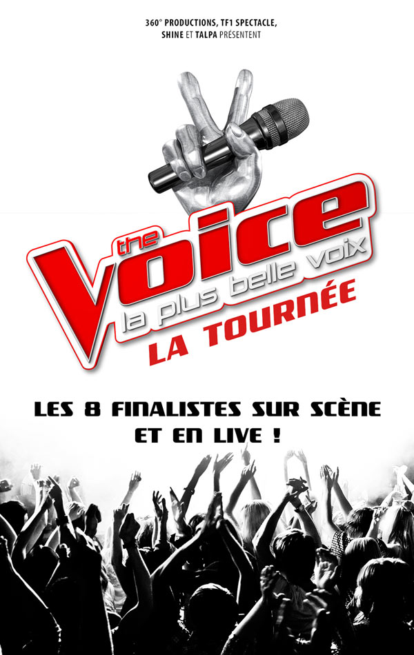 THE VOICE, LA TOURNEE