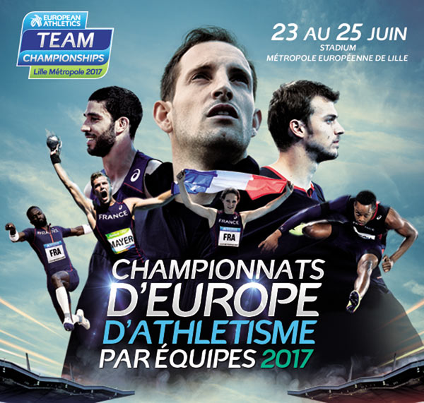 CHAMPIONNATS D'EUROPE D'ATHLETISME