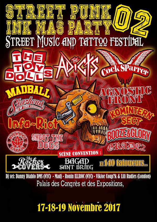 FESTIVAL STREET PUNK INK MAS PARTY
