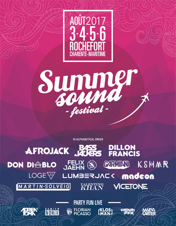 SUMMER SOUND FESTIVAL -  PASS 4J