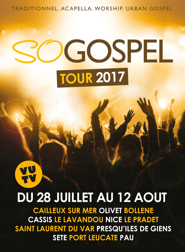 SO GOSPEL TOUR 2017 - LE PRADET