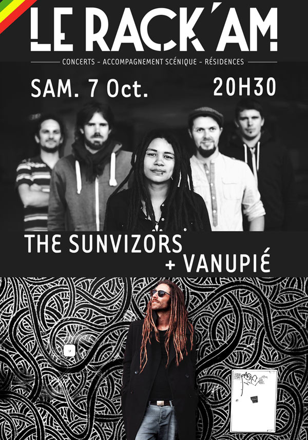 THE SUNVIZORS + VANUPIE