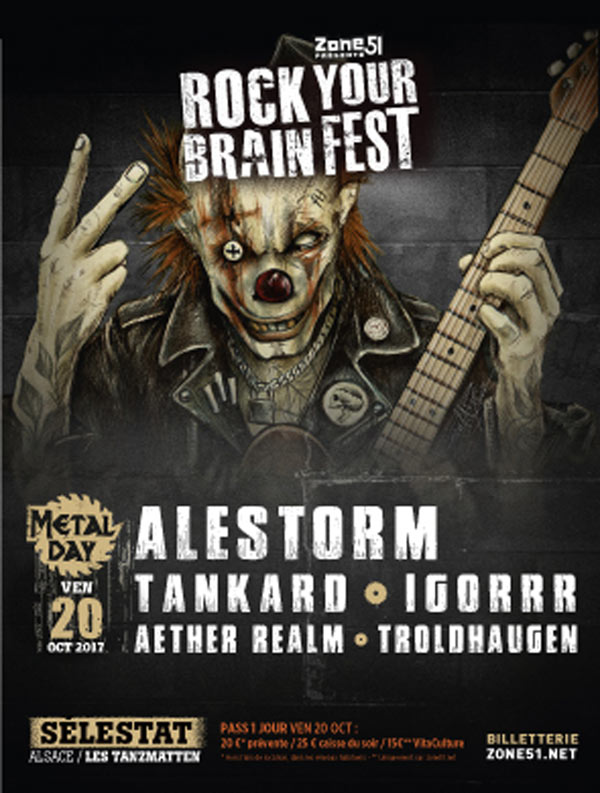 ROCK YOUR BRAIN FEST - METAL DAY