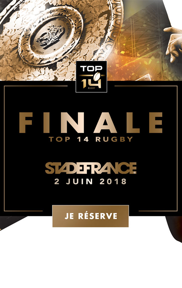 FINALE TOP 14 RUGBY - 2018