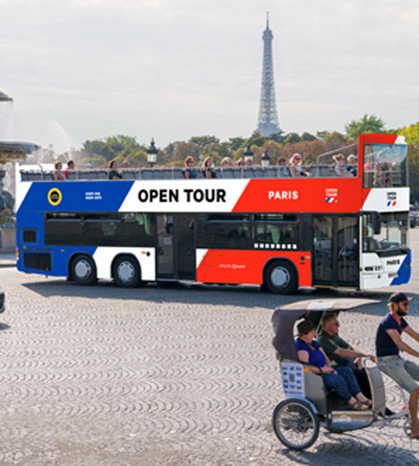 OPENTOUR PARIS PASS 3 JOURS (POT3)