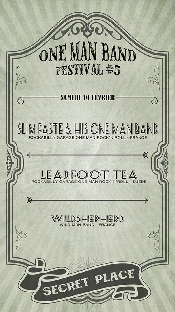 ONE MAN BAND FESTIVAL 5