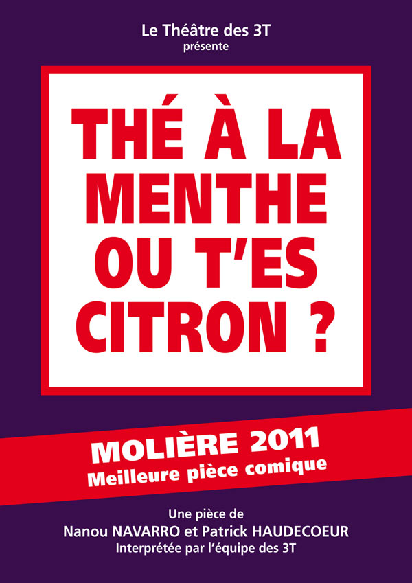 THE A LA MENTHE OU T'ES CITRON?