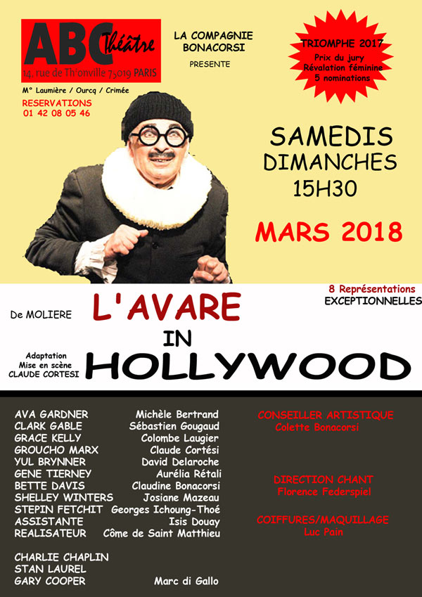 L'AVARE IN HOLLYWOOD