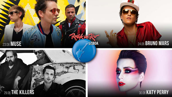 ROCK IN RIO LISBOA 2018 - PASS 2J