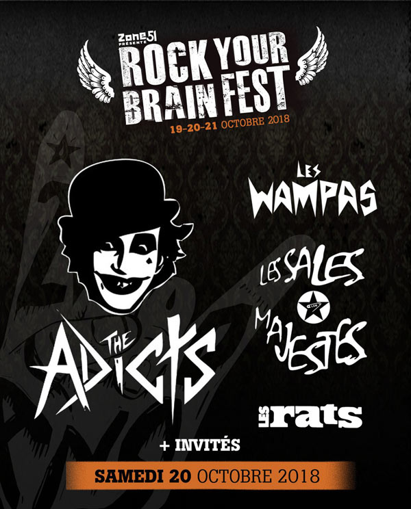 ROCK YOUR BRAIN FEST #6 - SAMEDI