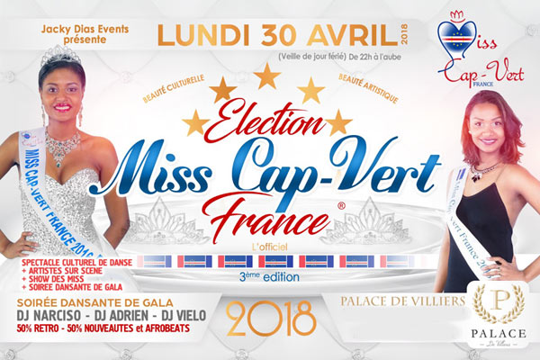 ELECTION MISS CAP-VERT FRANCE 2018