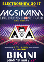 QUENTIN MOSIMAN LIVE DRUM SHOW