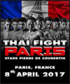 Réservation THAI FIGHT PARIS