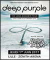 Réservation DEEP PURPLE