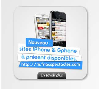Sites iPhone et Gphone à présent disponibles