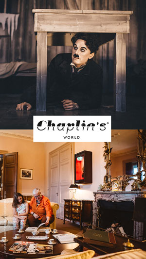CHAPLIN'S WORLD - BILLET NON DATÉ
