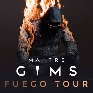 MAITRE GIMS: BUS LYON + CARRE OR