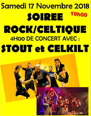 SOIREE ROCK CELTIQUE