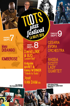 TOOTS JAZZ FESTIVAL - VEN. 07/09