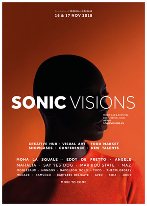 SONIC VISIONS 2018 - PASS 2 JOURS