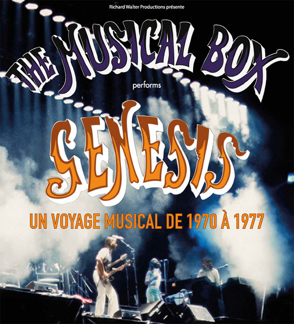 THE MUSICAL BOX PERFORMS GENESIS